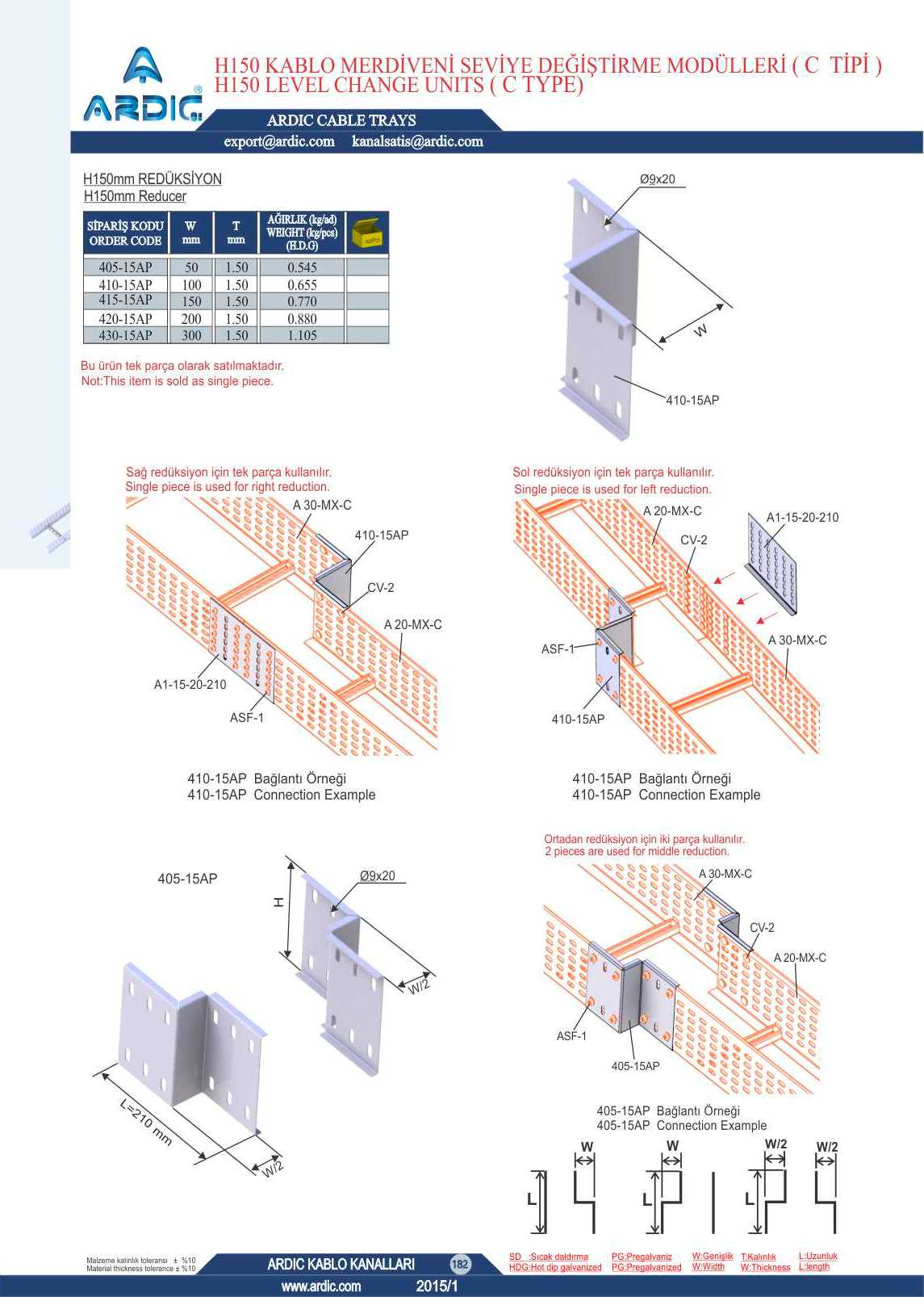 Ard Cable Trays 444 13 64 Ladder Wiring Diagram Images Of Wire 5 H150 C Type Reducers