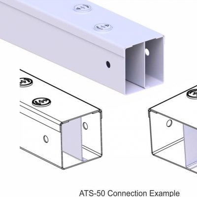Trunking Cable Trays (With Seperator))